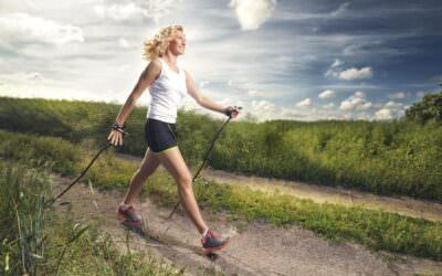 Nordic walking – poprawna technika chodzenia